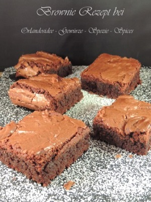 Amerikanische Double chocolate Brownies